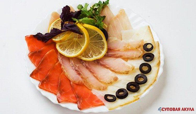 Окрошка с рыбой рецепт