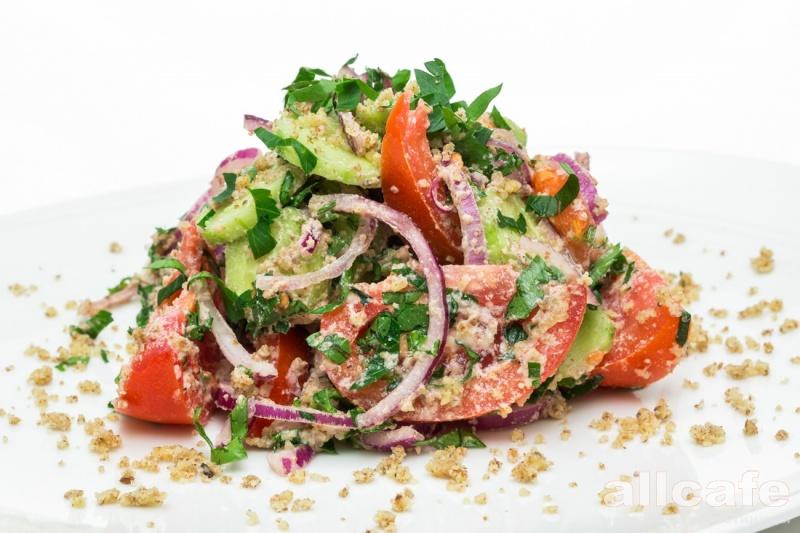 овощной салат пп рецепт с