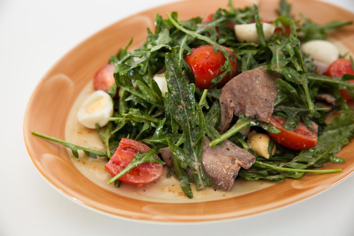 рецепты салатов с руколой и черри