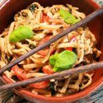 Азиатская лапша с овощами