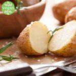Картофель, печеный на углях