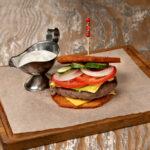 Картофельный бургер