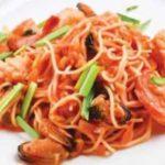 Капеллини с морепродуктами